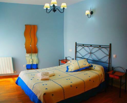 habitación hotel rural en Aliste