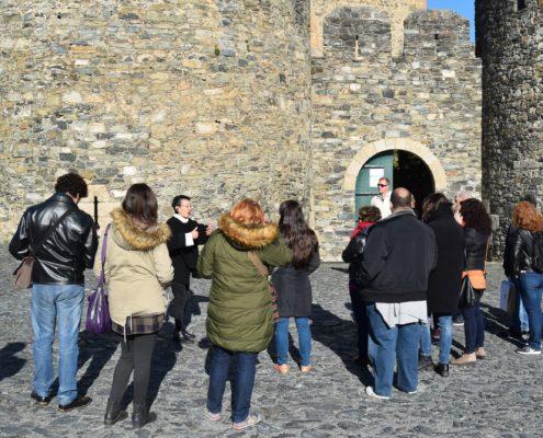 De visita en el castillo de Braganza