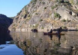 Kayak nocturno en el Duero