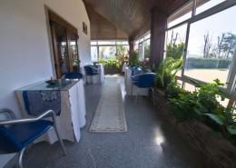 Cafetería y solarium
