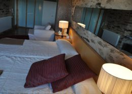 Habitación doble en Posada Real La Carteria