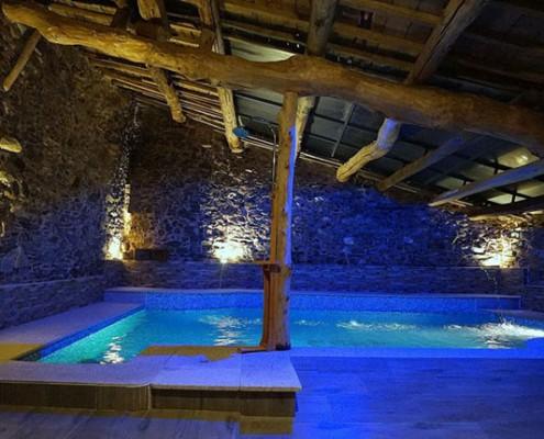 Casas rurales en zamora salamanca y bragan a naturaliste - Casa rural piscina interior ...