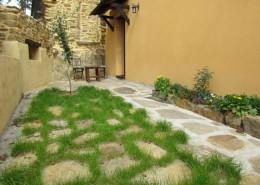 El Refugio del Poeta jardín