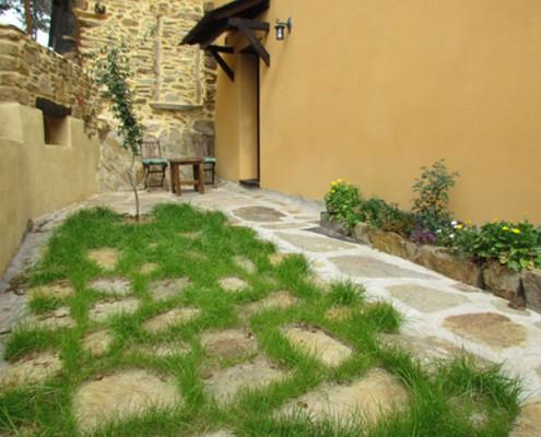El Refugio del poeta, jardin