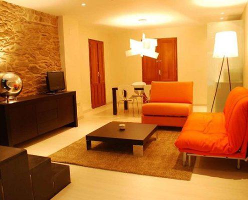 Suite detalle de salón