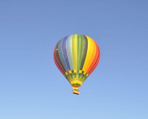 viaje en globo aerostático