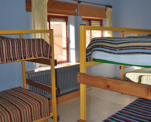 habitacion albergue Salamanca