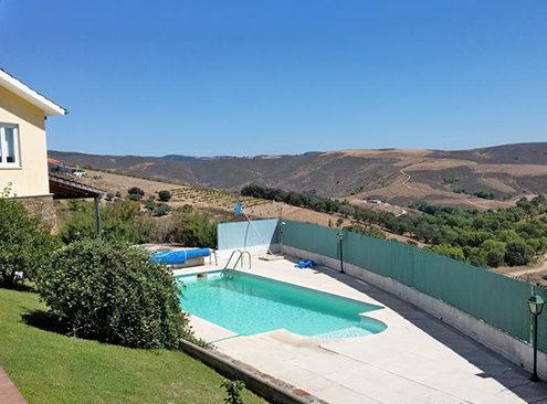 Casa de campo vistas piscina