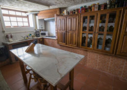 Cocina casa de piedra