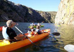 Kayak en Arribes del Duero