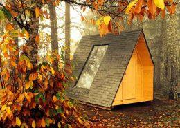 Cabaña ecológica giratoria Cepo Verde