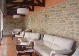 Sala lectura Hotel Sierra Culebra