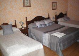 habitación triple San Vitero