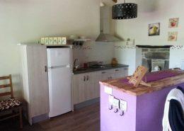 Cocina casa rural calma del lago