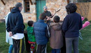 actividades en la naturaleza para niños
