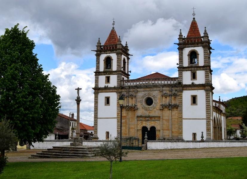 Turismo religioso en Portugal. Santuario del Santo Cristo de Outeiro