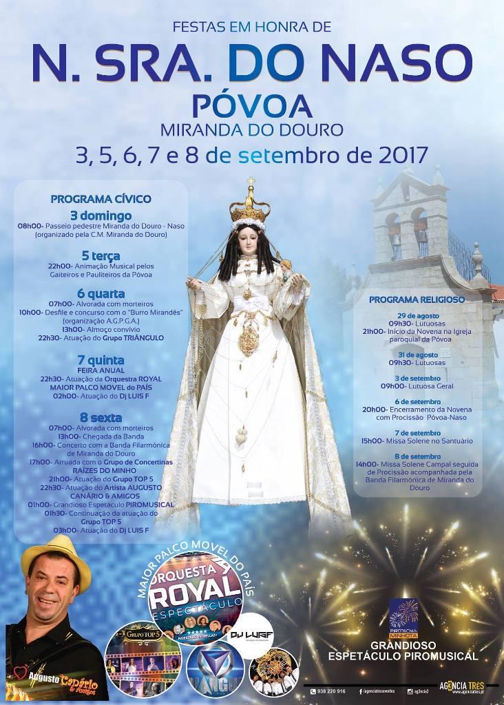 Turismo religioso en Portugal. Nossa Senhora do Naso (Póvoa).