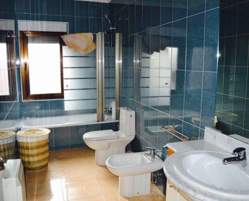 baño casa para grupos