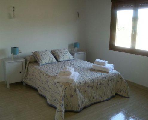 habitación casa para vacaciones sierra de la culebra