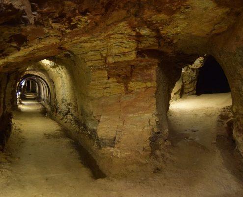 Visita a mina de estaño