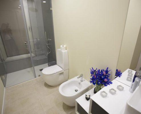 baño ducha bungalows bragança