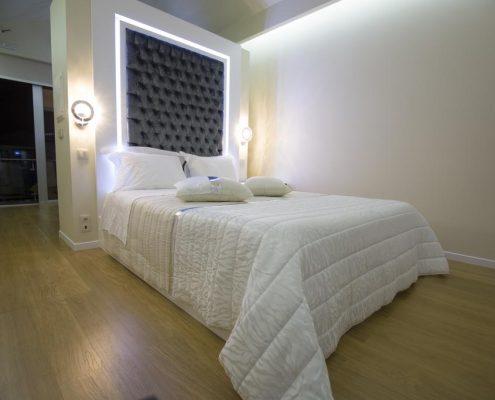 cama matrimonio bungalows hotel estalagem