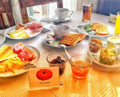 desayuno estalagem turismo