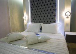 detalle cama bungalow de lujo