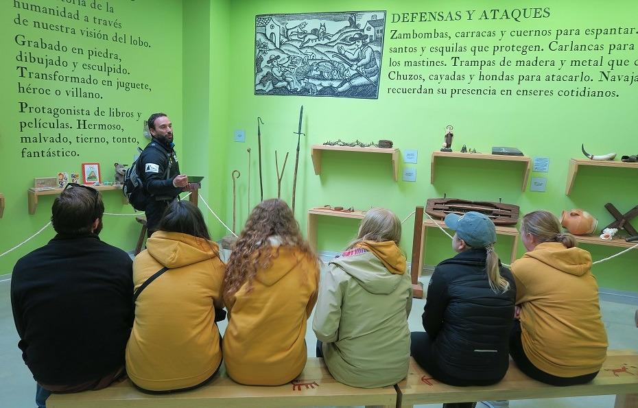 visita guiada centro interpretación lobo