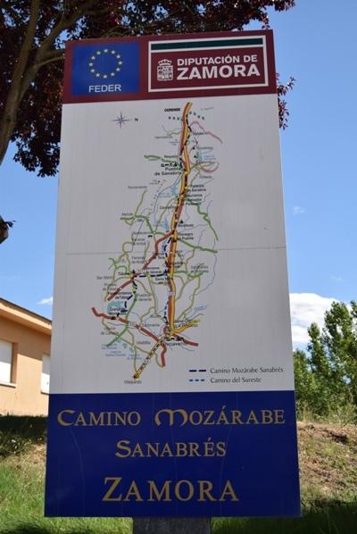 camino de santiago sanabrés