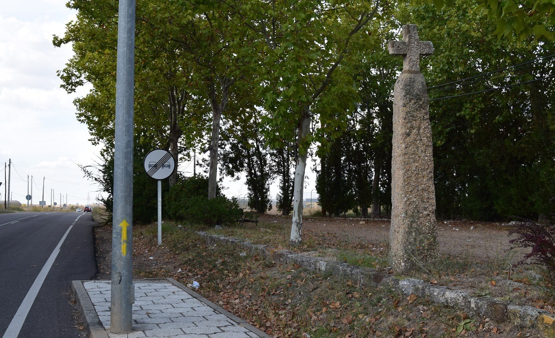 camino de santiago cruz rey sancho