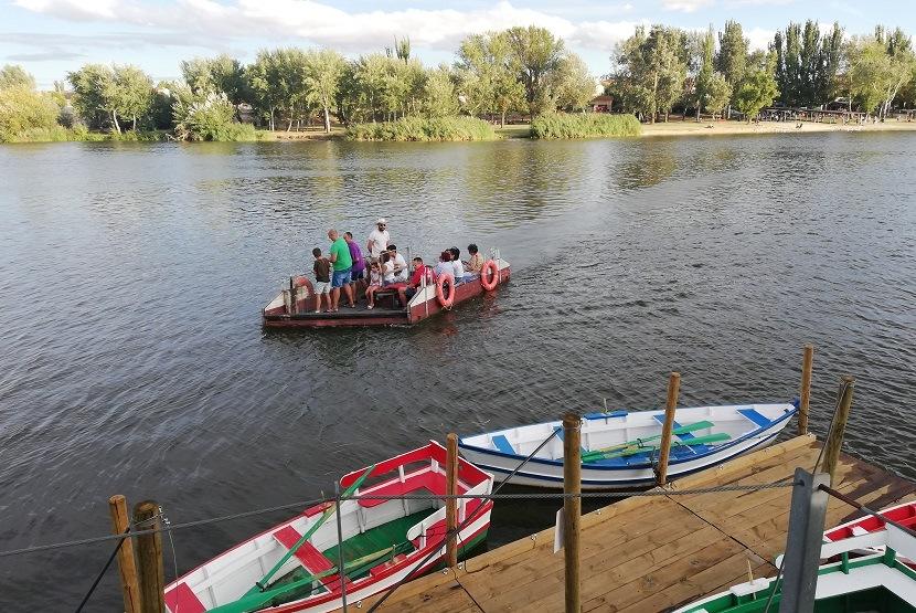 barcaza de olivares
