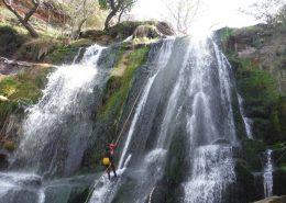 barranquismo rio deva