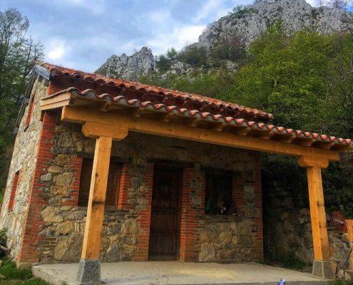 cabañas de madera asturias