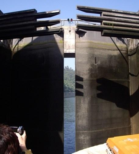 crucero por las esclusas del duero