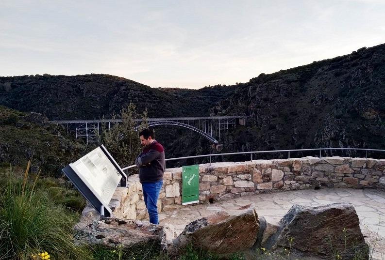 mirador puente pino arribes